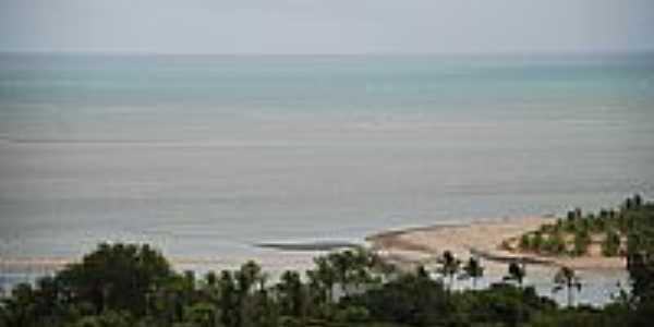 Vista da Praia de Marinha Farinha-Foto:Décio Sena