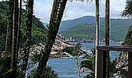 Ilha do Papagaio - Vista da Ilha do Papagaio-Foto:webah.wordpress.