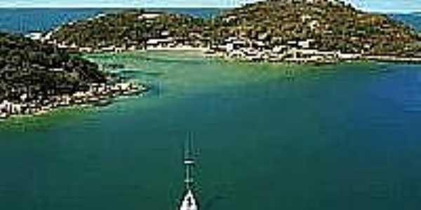 Cenário da Ilha do Papagaio-Foto:jcnavegatur.