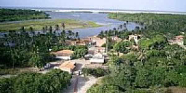 Rio Preguiças - Vista do farol de Mandacarú Fotos de Edilson Morais Brito
