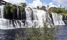 Serra do Cipó - Serra do Cipó-MG-Cachoeira Grande-Foto:Fernando Freitas