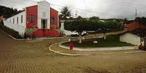 Córrego de Pedra-BA-Entrada do Povoado-Foto:www.ipiauhoje.com
