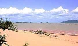 Sento Sé - Sento Sé-BA-Prainha do Rio São Francisco na Ilha da Ipatera-Foto:geidsonc