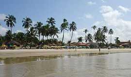 Praia de Gaibu - Praia de Gaibu-PE-Vista da praia-Foto:Alan Bernardino de Oliveira