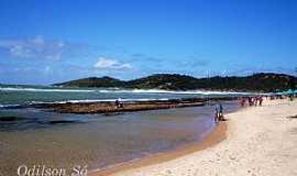 Praia de Gaibu - Praia de Gaibu-PE-Vista da praia-Foto:Odilson Sá