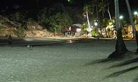 Praia de Gaibu - Praia de Gaibu-PE-Vista noturna da praia-Foto:Eric Colaço