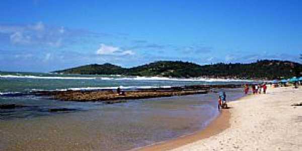 Praia de Gaibu-PE-Vista da praia-Foto:Odilson Sá