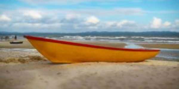 Praia de  Cabuçú III, Por Djalma Cruz Dias