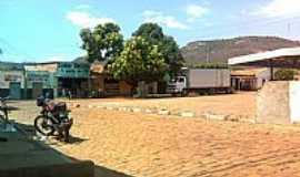 Missão de Aricobé - Praça ao lado do Mercado de Missão de Aricobé-BA-Foto:vagno vilas boas