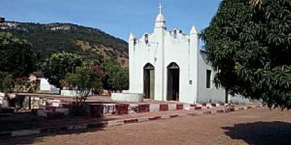 Missão de Aricobé-BA-Antiga Igreja-Foto:vagno vilas boas