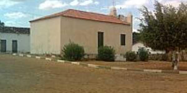 Praça e Igreja de Missão de Aricobé-BA-Foto:vagno vilas boas