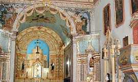 Oliveira dos Campinhos - Oliveira dos Campinhos-BA-Altar Mor da Igreja de N.Sra.de Oliveira-Foto:Cadu Freitas/BnL