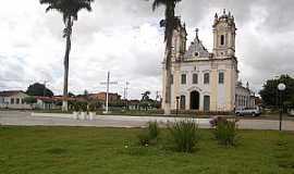 Oliveira dos Campinhos - Oliveira dos Campinhos-BA-Praça e Igreja de N.Sra.de Oliveira-Foto:Cadu Freitas/BnL