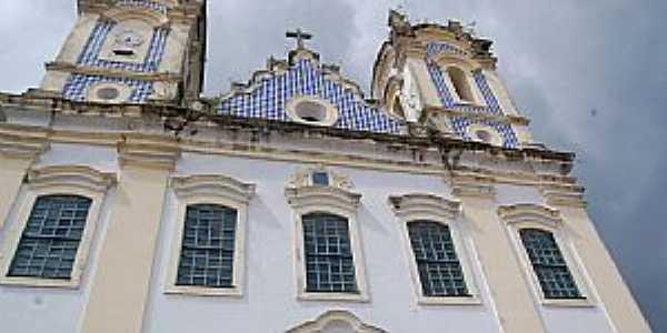 Oliveira dos Campinhos-BA-Fachada da Igreja de N.Sra.de Oliveira-Foto:Cadu Freitas