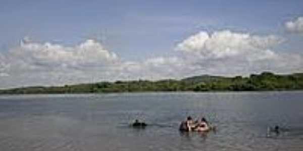 Vista do Rio em Passos Feliz-CE-Foto:Osmar Alves