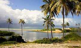 Praia do Baixio - Praia do Baixio-BA-Lagoa do Mamucabo-Foto:Miss Check-in