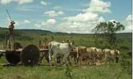 Povoado São Miguel - Povoado São Miguel-BA-Carro de Boi-Tradição preservada-Foto:https://www.facebook.com