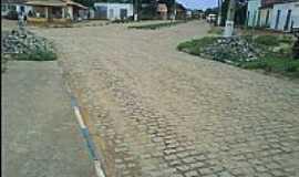 Povoado São Miguel - Povoado São Miguel-BA-Ruas centrais-Foto:https://www.facebook.com