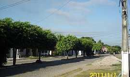 São Bento do Inhatá  - São Bento do Inhatá-BA-Avenida ao amanhecer-Foto:Giovan A.