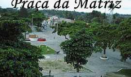 São Bento do Inhatá  - São Bento do Inhatá-BA-Praça da Matriz-Foto:inhata.blogspot.com