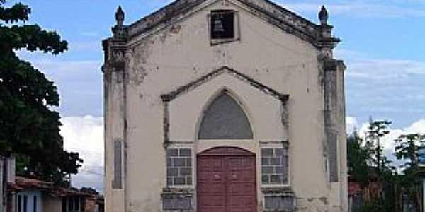 São Bento do Inhatá-BA-Igreja de São Bento-Foto:Otavio Neves Cardoso