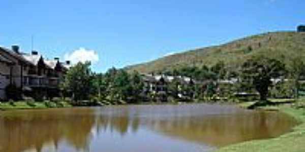 Albuquerque-RJ-Lago da Green Valley em Albuquerque,Município de Teresópolis-Foto:Jorge Luis Cunha