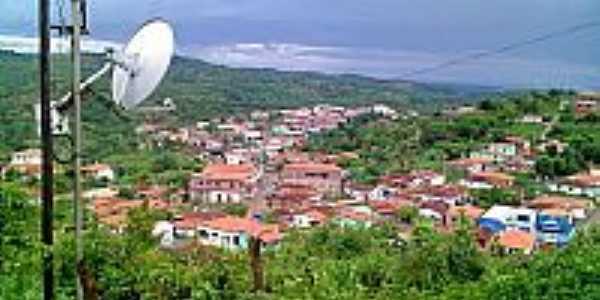 São Sebastião da Boa Vista-MG-Vista parcial da cidade-Foto:Mineiro