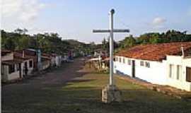 Vila de Santo André  - Vila de Santo André-BA-Cruzeiro-Marco histórico na praça da Igreja-Foto:Marcio Raimundo