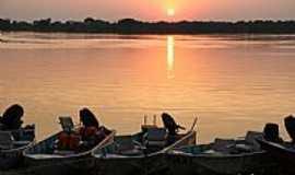 Porto Morrinho - Porto Morrinho-MS-Amanhecer no Rio Paraguai-Foto:Isabel Pellizzer