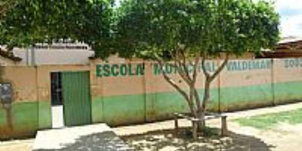 Escola Municipal de Serra Dourada-BA-Foto:Dênis Santana
