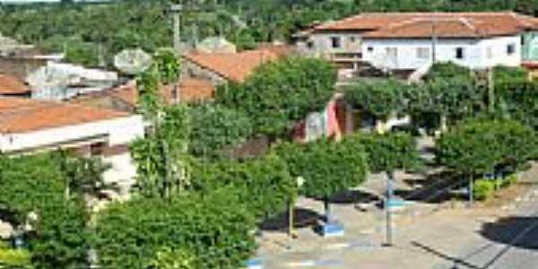 Vista panorâmica de Serra Dourada-BA-Foto:Dênis Santana