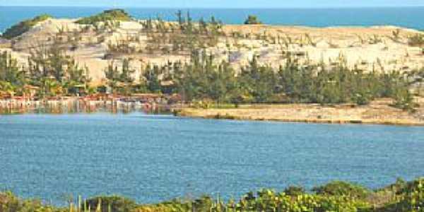Praia de Pitangui-RN-Lagoa de Pitangui-Foto:brasilrn.com