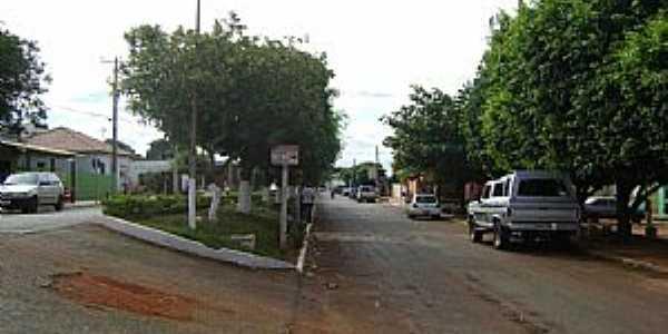 Paraíso das Águas-MS-Avenida Principal-Foto:Silvio Salles
