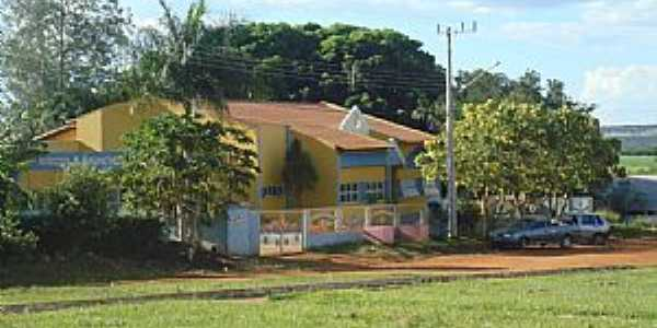 Paraíso das Águas-MS-Escola Municipal-Foto:IsaCuomo