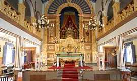 Vila do Tabuleiro - Vila do Tabuleiro-MG-Interior da Matriz do Bom Jesus da Cana Verde-Foto: Evaldo Sales