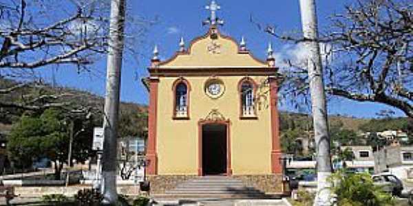 Vila do Tabuleiro-MG-Matriz do Bom Jesus da Cana Verde-Foto:Evaldo Sales