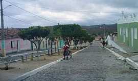Valentim Distrito de Boa Nova - Valentim Distrito de Boa Nova-BA-Avenida principal-Foto:bomjesusnoticias.