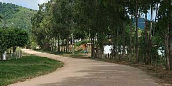 Valentim Distrito de Boa Nova-BA-Entrada do Povoado-Foto:ANA MARCIA PORTO, PATRICIA MEIRA E FLÁVIA REGINA OLIVEIRA