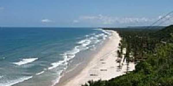 Vista da praia de Serra Grande-BA-Foto:lobobrazil