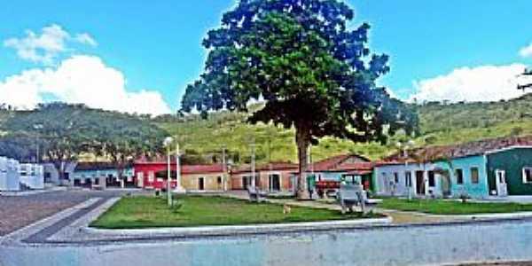 Praça da Matriz Serra Preta - Bahia