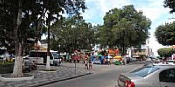 Serrinha-BA-Centro da cidade-Foto:Joquinha Bandia�u