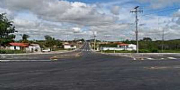 Serrinha-BA-Trevo da entrada da cidade-Foto:Joquinha Bandiaçu