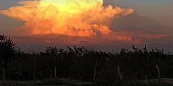 Pôr do Sol em Serrolândia-BA-Foto:Diogo Santos