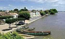 S�tio do Mato - S�tio do Mato-BA-Orla no Rio S�o Francisco-Foto:www.barreirasnoticias.com