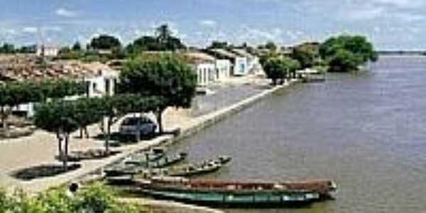 Sítio do Mato-BA-Orla no Rio São Francisco-Foto:www.barreirasnoticias.com