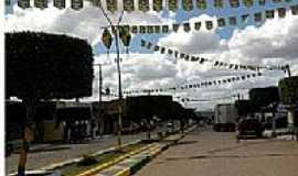 Sítio do Quinto - Avenida central em Sítio do Quinto-BA-Foto:Adriano Carvalho