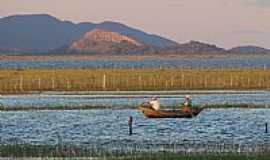 Sobradinho - Pescadores no Lago de Sobradinho-Foto:Tovinho Regis