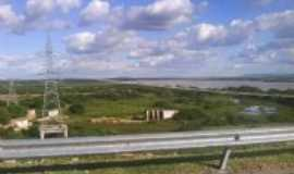 Sobradinho - Foto da regi�o da Usina Hidrel�trica de Sobradinho e do Rio S�o Francisco, Por marly dos a. nascimento diadema - sp