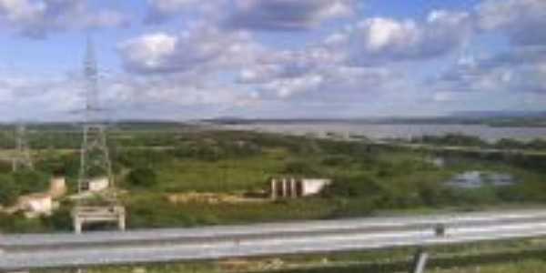 Foto da região da Usina Hidrelétrica de Sobradinho e do Rio São Francisco, Por marly dos a. nascimento diadema - sp