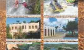 Taboquinhas - cartão postal de taboquinhas, Por LEOZINHO AFRAM ou LEANDRO NUNES